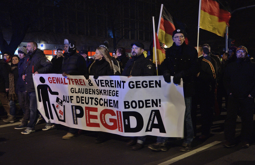 PEGIDA Demonstration in Dreseden ()